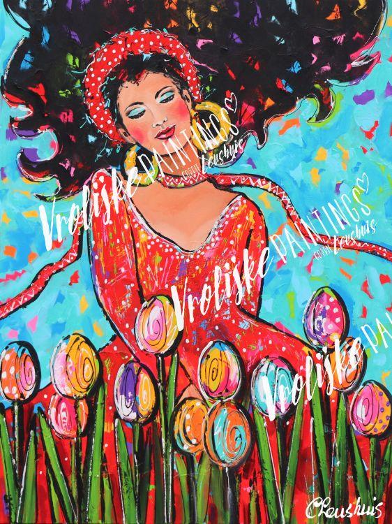 Tussen de Tulpen