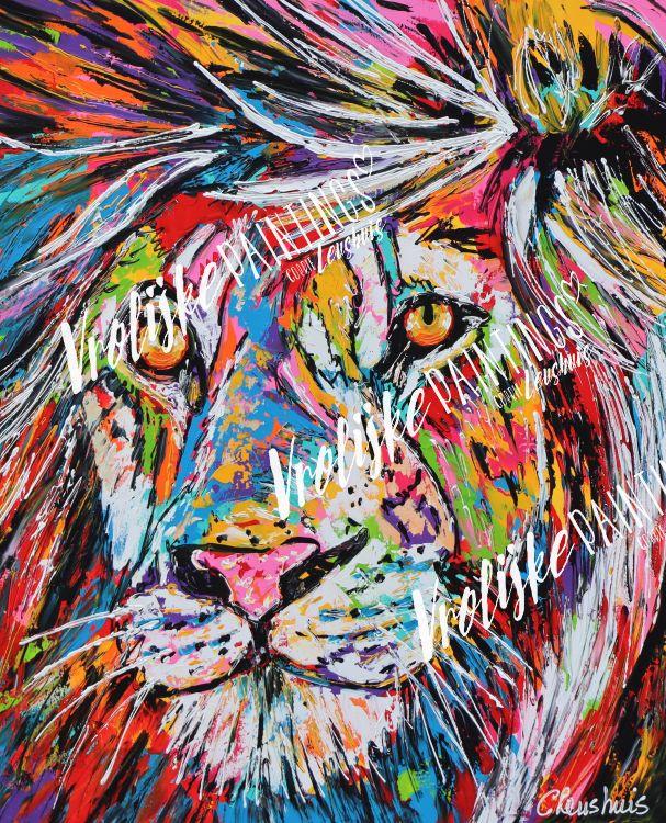 Sterk als een leeuw