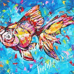 Als een vis in het water
